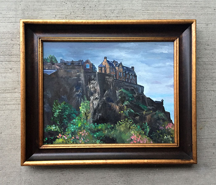 """CASTLE ROCK"" - 20x16"" Original Oil Painting"