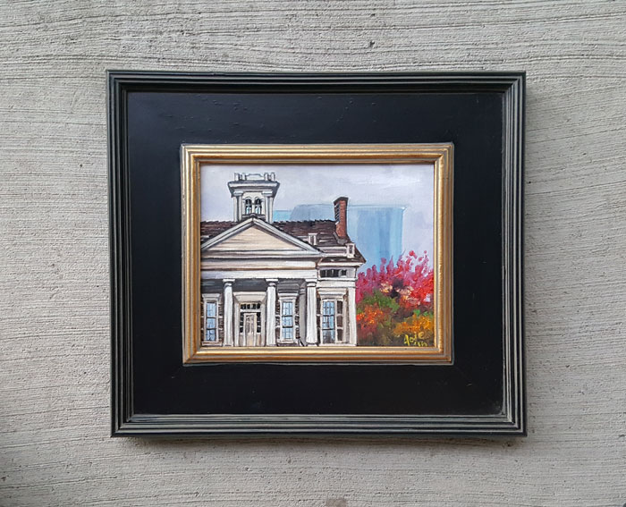 """Clarke House"" - 10x8"" Original Oil Painting"