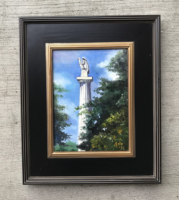 """Illinois Centennial"" - 9x12"" Original Oil Painting"