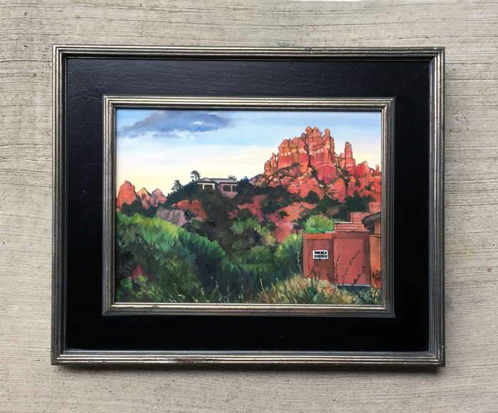 """Red Rock Vista"" -"