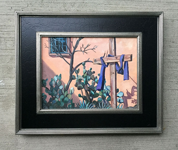 """RESURRECTION"" - 14x11"" Original Oil Painting"