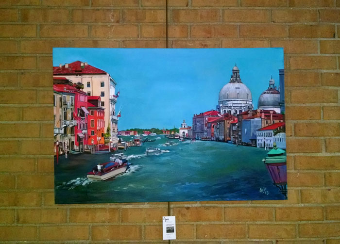 """ACQUA TURCHESE"" - 36x24"" Original Oil Painting"