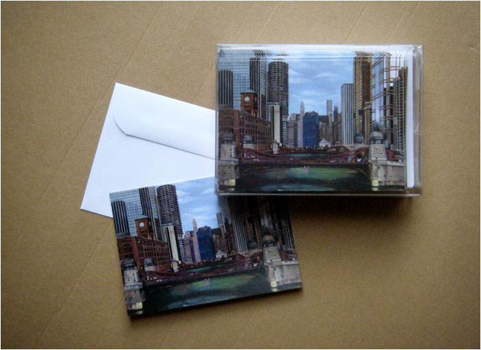 """GREEN RIVER"" - Box of 30 Cards"