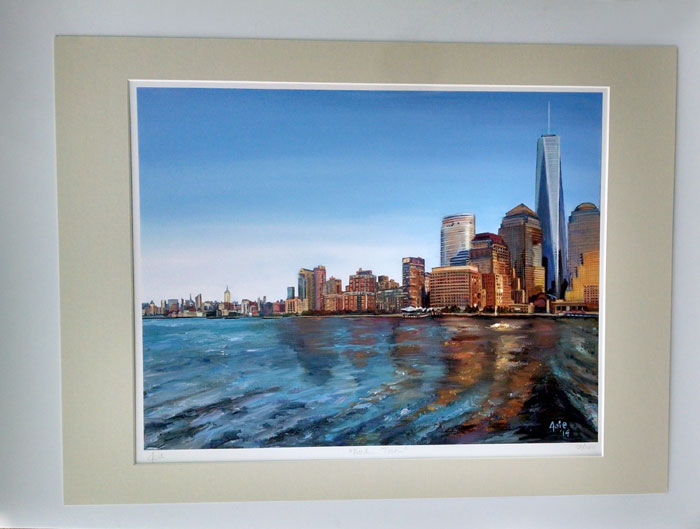 """FREEDOM TOWER"" - Matted Print"
