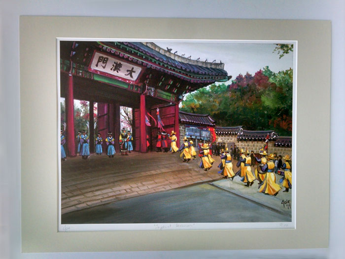 """IMPERIAL PROCESSION"" - Matted Print"