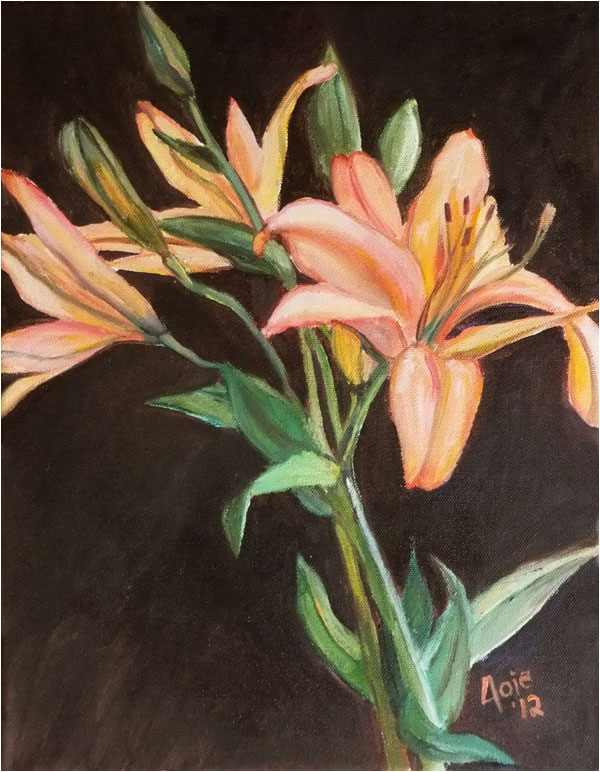 """STARGAZERS"" - 11x14"" Original Oil Painting"