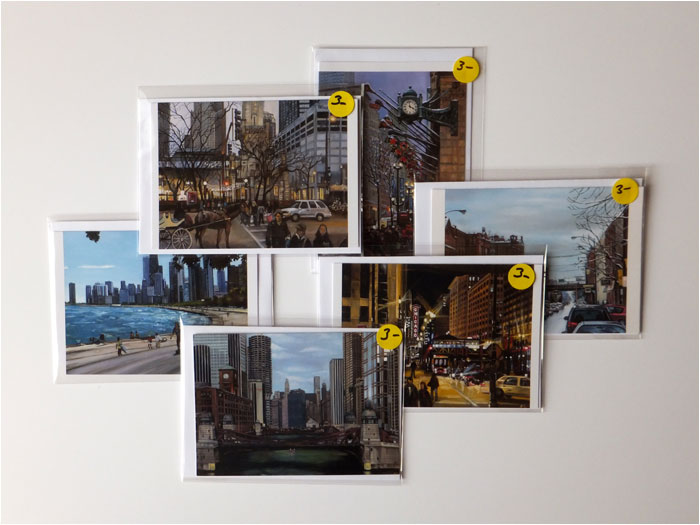 Chicago Greeting Cards - Variety Pack Box of 30