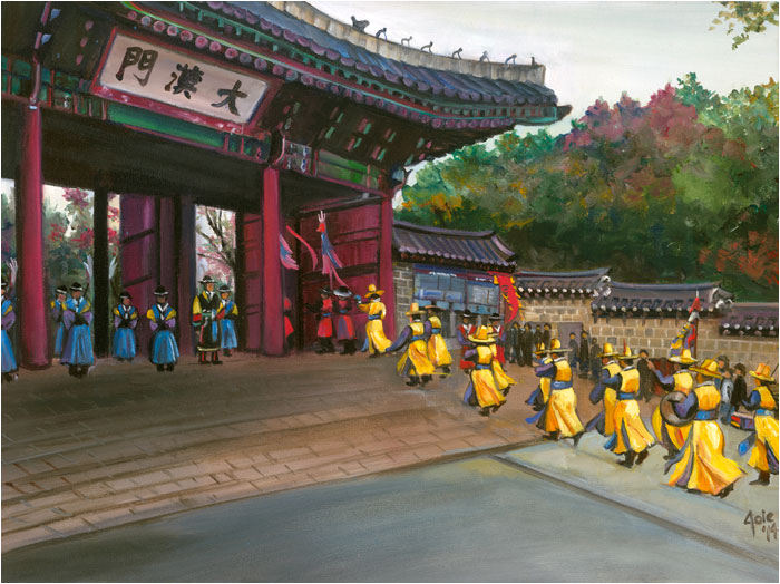 Korean painting, Imperial Procession