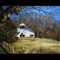 Thumbnail of White Tennessee Barn