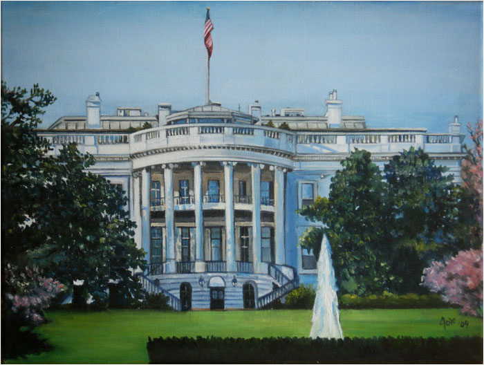 Story Behind The Painting White House